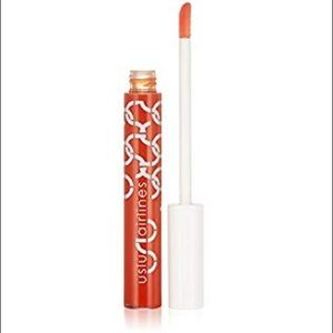 uslu airlines lip gloss 'DWB' sheer persimmon NIB